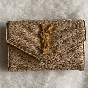 YSL Monogram Small Envelope Wallet